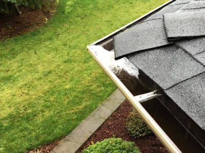 We Fix Clogged Gutters!
